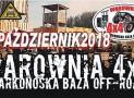Warownia4x4 – integracja Off-Road 27 października 2018