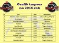 Kalendarz imprez 2016